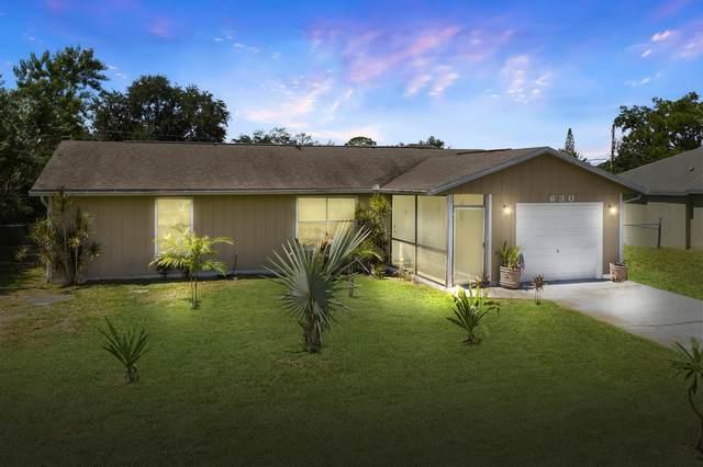 630 SW Curry Street, Port Saint Lucie, FL 34953 (#RX-10749545) :: Baron Real Estate