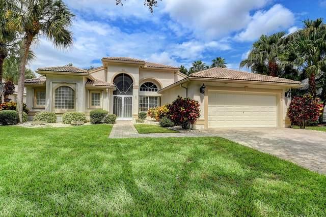 6796 Molakai Circle, Boynton Beach, FL 33437 (#RX-10749675) :: Baron Real Estate