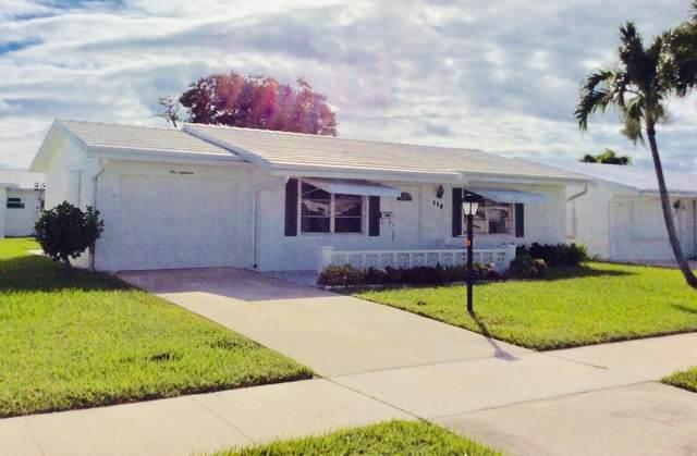 118 Leisureville Boulevard, Boynton Beach, FL 33426 (#RX-10749829) :: Posh Properties