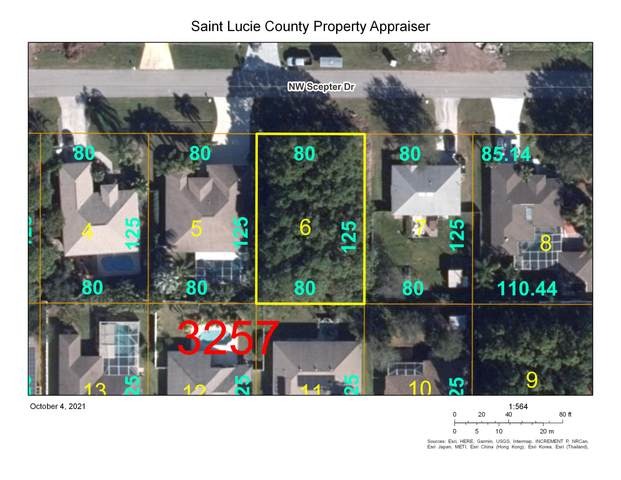 5487 NW Scepter Drive, Port Saint Lucie, FL 34983 (MLS #RX-10749893) :: Castelli Real Estate Services