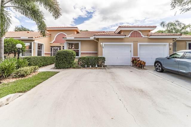 12622 Crystal Pointe Drive C, Boynton Beach, FL 33437 (#RX-10750042) :: Baron Real Estate