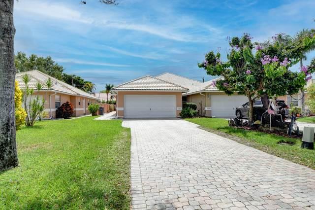 5255 Grande Palm Circle, Delray Beach, FL 33484 (MLS #RX-10750172) :: Castelli Real Estate Services