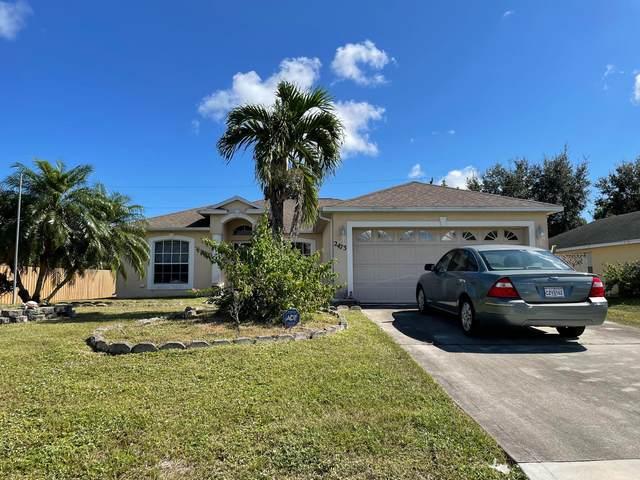 2473 SW Monterrey Lane, Port Saint Lucie, FL 34953 (#RX-10750272) :: Posh Properties