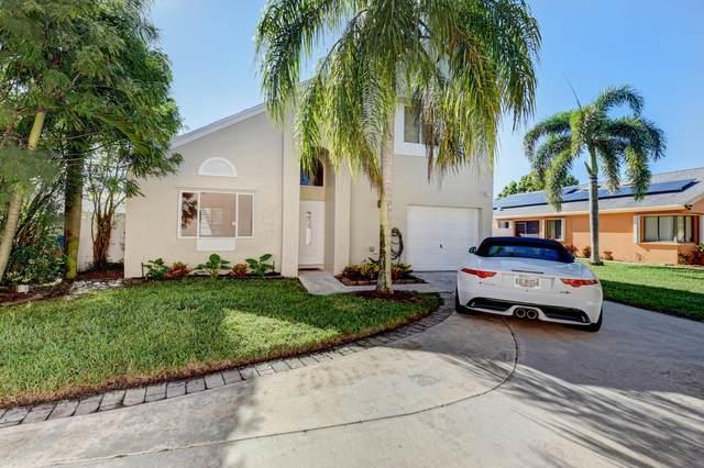 9 Elton Place, Boynton Beach, FL 33426 (#RX-10750287) :: Baron Real Estate