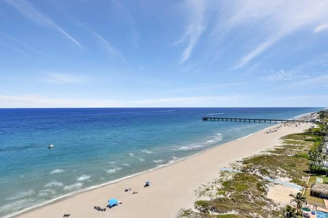 3000 S Ocean Boulevard #1506, Boca Raton, FL 33432 (MLS #RX-10750438) :: Castelli Real Estate Services