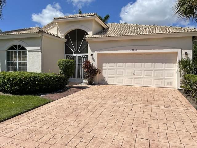 12880 Coral Lakes Drive, Boynton Beach, FL 33437 (MLS #RX-10750558) :: Castelli Real Estate Services