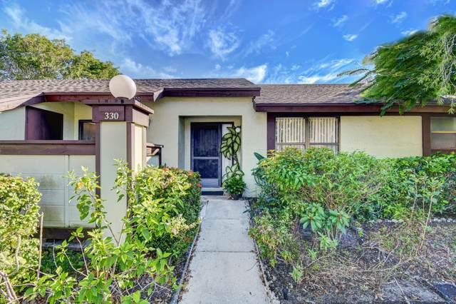 330 Pennington Court #330, Royal Palm Beach, FL 33411 (#RX-10750675) :: Baron Real Estate