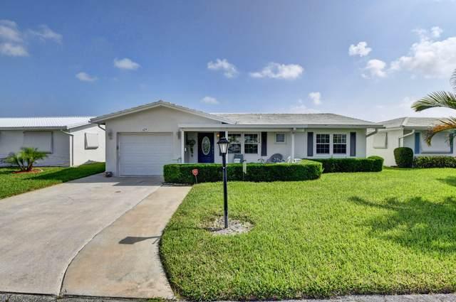 629 SW 21st Circle SW, Boynton Beach, FL 33426 (#RX-10750682) :: Posh Properties