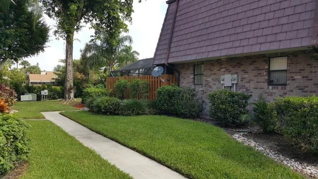 7596 Courtyard Run W #72, Boca Raton, FL 33433 (#RX-10750724) :: Baron Real Estate