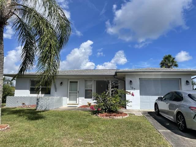 107 SE Selva Court, Port Saint Lucie, FL 34983 (#RX-10750786) :: Michael Kaufman Real Estate