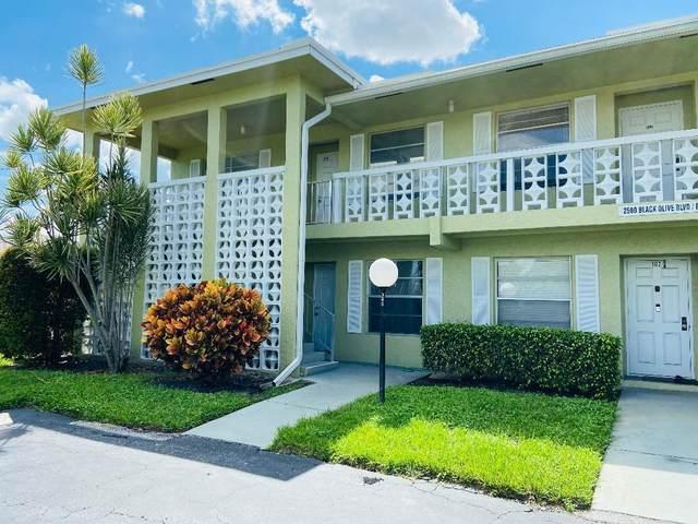 2500 Black Olive Boulevard #101, Delray Beach, FL 33445 (#RX-10750793) :: IvaniaHomes | Keller Williams Reserve Palm Beach