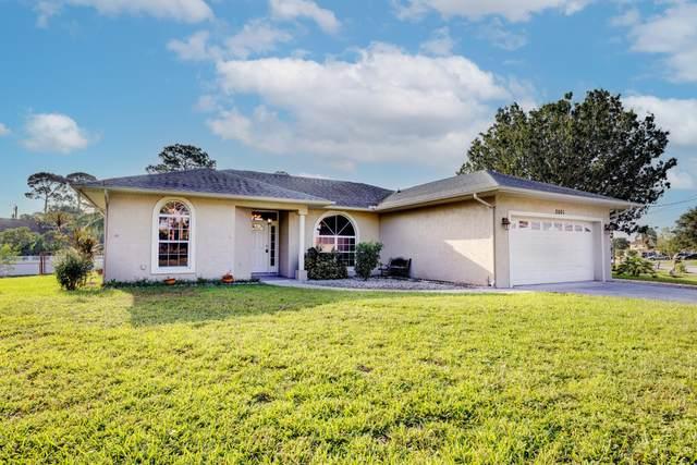 2501 SW Hinchman Avenue, Port Saint Lucie, FL 34953 (MLS #RX-10750799) :: Castelli Real Estate Services