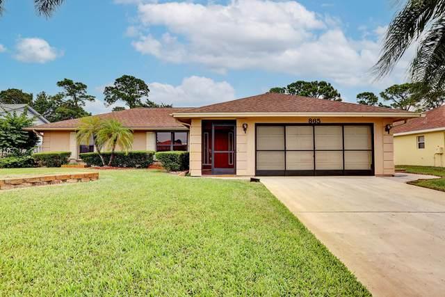 865 SE Lansdowne Avenue, Port Saint Lucie, FL 34983 (#RX-10750876) :: Heather Towe   Keller Williams Jupiter