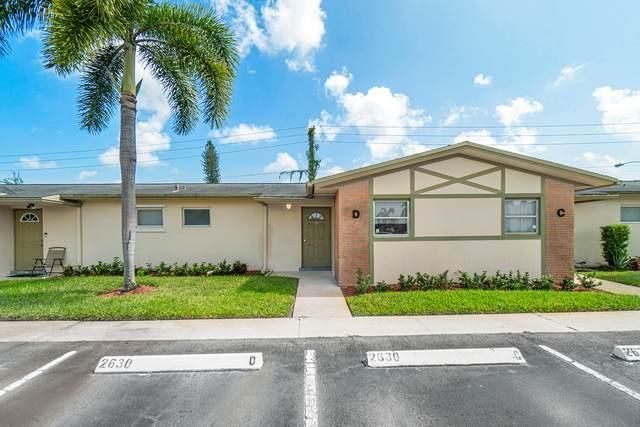 2630 Barkley Drive E D, West Palm Beach, FL 33415 (#RX-10750900) :: Baron Real Estate