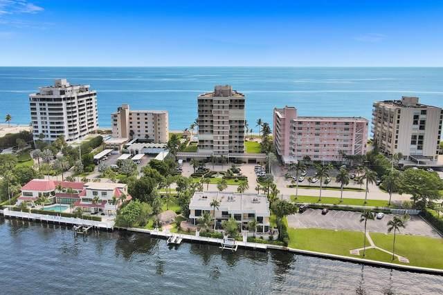 2916 S Ocean Boulevard Th1, Highland Beach, FL 33487 (#RX-10751371) :: DO Homes Group