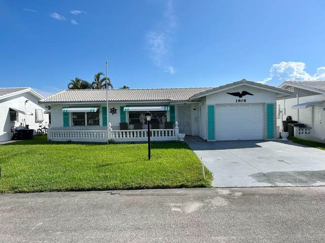 1908 SW 20th Circle, Boynton Beach, FL 33426 (#RX-10751425) :: Heather Towe | Keller Williams Jupiter