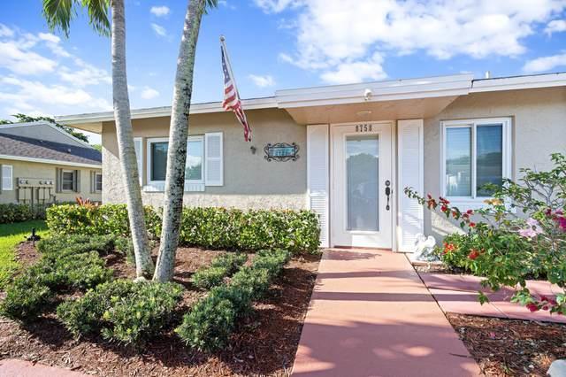 8758 Windrow Way A, Boca Raton, FL 33496 (#RX-10751429) :: Michael Kaufman Real Estate