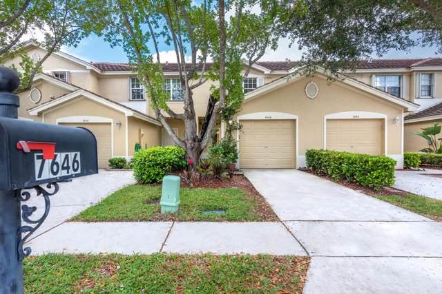 7646 Sonesta Shores Drive, Lake Worth, FL 33463 (MLS #RX-10751527) :: Castelli Real Estate Services