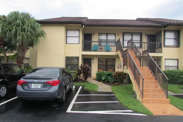 4692 Lucerne Lakes Boulevard #105, Lake Worth, FL 33467 (MLS #RX-10751630) :: Berkshire Hathaway HomeServices EWM Realty