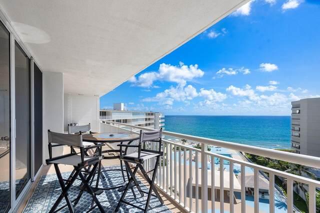 3546 S Ocean Boulevard #909, Palm Beach, FL 33480 (#RX-10751640) :: IvaniaHomes | Keller Williams Reserve Palm Beach