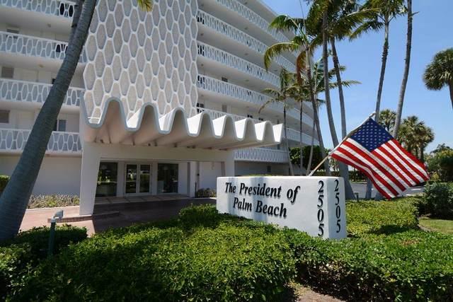 2505 S Ocean Boulevard #303, Palm Beach, FL 33480 (#RX-10751838) :: The Rizzuto Woodman Team