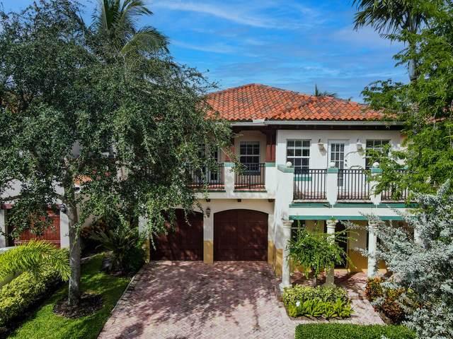 1612 Old Palm Lane, Delray Beach, FL 33483 (MLS #RX-10751858) :: Berkshire Hathaway HomeServices EWM Realty