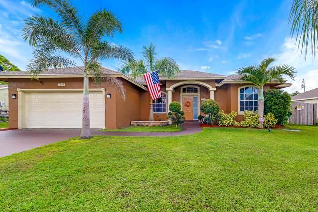 1338 SW Hebner Avenue, Port Saint Lucie, FL 34953 (#RX-10752031) :: Posh Properties
