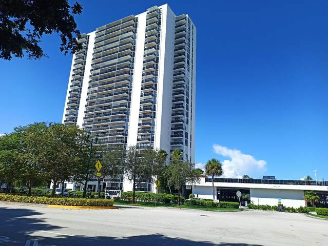 3625 N Country Club Drive #310, Aventura, FL 33180 (MLS #RX-10752056) :: The Jack Coden Group