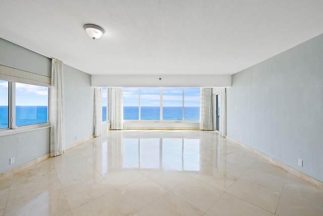 2909 S Ocean Boulevard 6A, Highland Beach, FL 33487 (#RX-10752106) :: Posh Properties