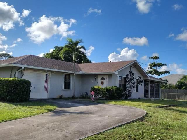 341 SE Volkerts Terrace, Port Saint Lucie, FL 34983 (#RX-10752147) :: Posh Properties
