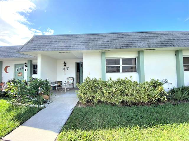 2638 Gately Drive E #17, West Palm Beach, FL 33415 (#RX-10752212) :: Heather Towe | Keller Williams Jupiter