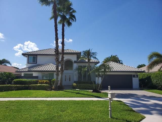 9579 E Lake Drive, Boca Raton, FL 33434 (MLS #RX-10752344) :: Dalton Wade Real Estate Group