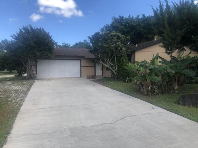 1609 SW Brisbane Street, Port Saint Lucie, FL 34984 (MLS #RX-10752387) :: Castelli Real Estate Services