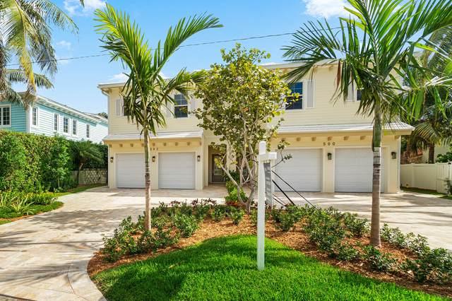 500 NE Wavecrest Way, Boca Raton, FL 33432 (MLS #RX-10752442) :: The Jack Coden Group