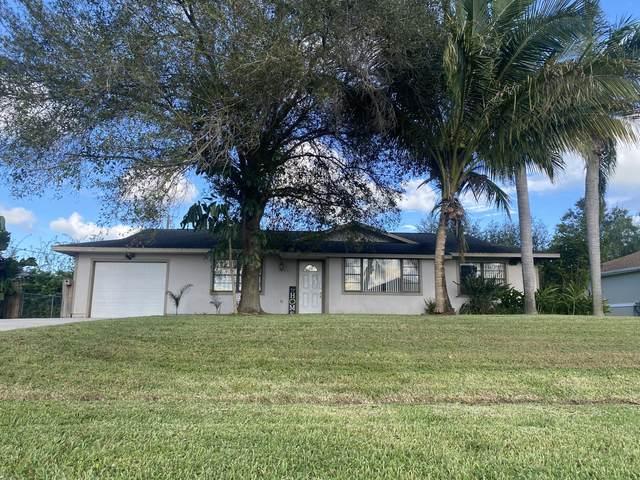 1641 SW Buffum Lane, Port Saint Lucie, FL 34984 (MLS #RX-10752446) :: Castelli Real Estate Services