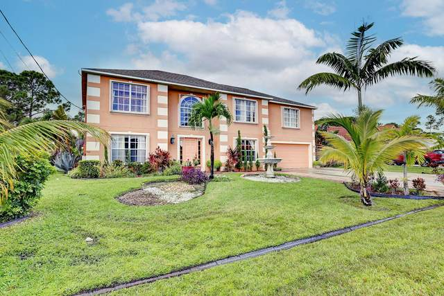 4110 SW Utterback Street, Port Saint Lucie, FL 34953 (#RX-10752522) :: Posh Properties
