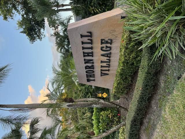 6614 Thornhill Court, Boca Raton, FL 33433 (MLS #RX-10752652) :: Castelli Real Estate Services