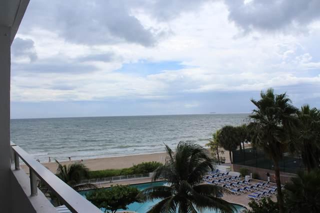 4040 Galt Ocean Drive #318, Fort Lauderdale, FL 33308 (MLS #RX-10752800) :: The Teri Arbogast Team at Keller Williams Partners SW