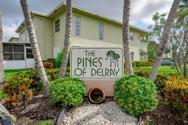 1140 Cactus Terrace 44-B, Delray Beach, FL 33445 (#RX-10752891) :: IvaniaHomes | Keller Williams Reserve Palm Beach