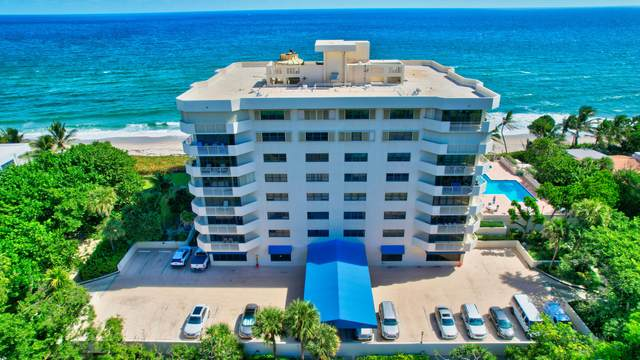 4605 S Ocean Boulevard 6C, Highland Beach, FL 33487 (#RX-10753038) :: Posh Properties