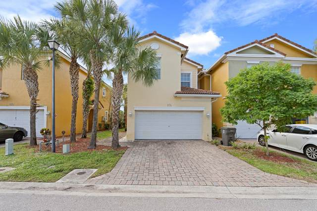 874 Pipers Cay Drive, West Palm Beach, FL 33415 (#RX-10753115) :: Posh Properties