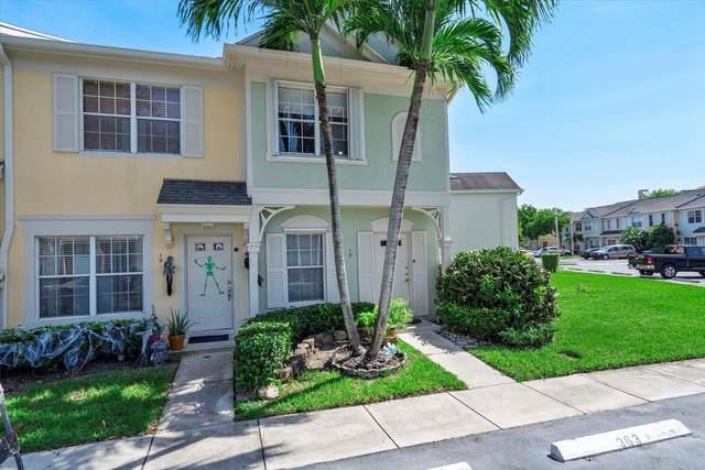 12 Whitehead Circle #12, Weston, FL 33326 (MLS #RX-10753316) :: Castelli Real Estate Services