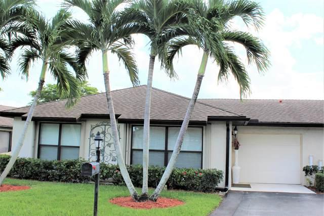 4660 Greentree Place A, Boynton Beach, FL 33436 (#RX-10753465) :: Heather Towe | Keller Williams Jupiter