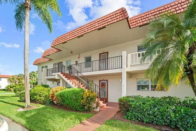 6 Abbey Lane #102, Delray Beach, FL 33446 (MLS #RX-10753767) :: Dalton Wade Real Estate Group