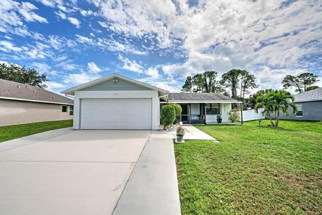 450 SE Karney Terrace, Port Saint Lucie, FL 34953 (MLS #RX-10753793) :: Castelli Real Estate Services