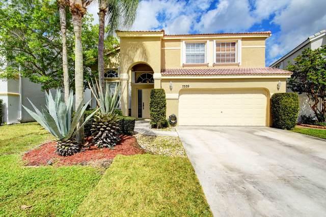 7539 Ridgefield Lane, Lake Worth, FL 33467 (MLS #RX-10753798) :: Dalton Wade Real Estate Group