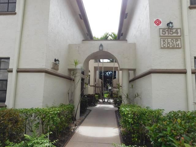 5154 Floria Drive D, Boynton Beach, FL 33437 (#RX-10753800) :: Posh Properties