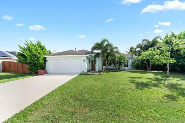 3647 SW Ballweg Street, Port Saint Lucie, FL 34953 (MLS #RX-10753818) :: Castelli Real Estate Services