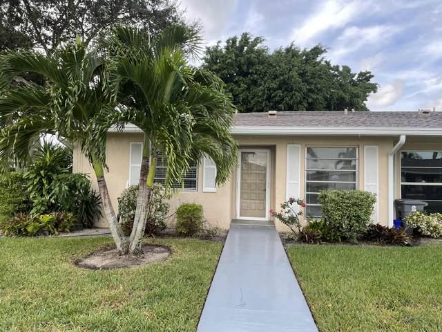 21012 Covington Drive #193, Boca Raton, FL 33433 (MLS #RX-10753858) :: Castelli Real Estate Services
