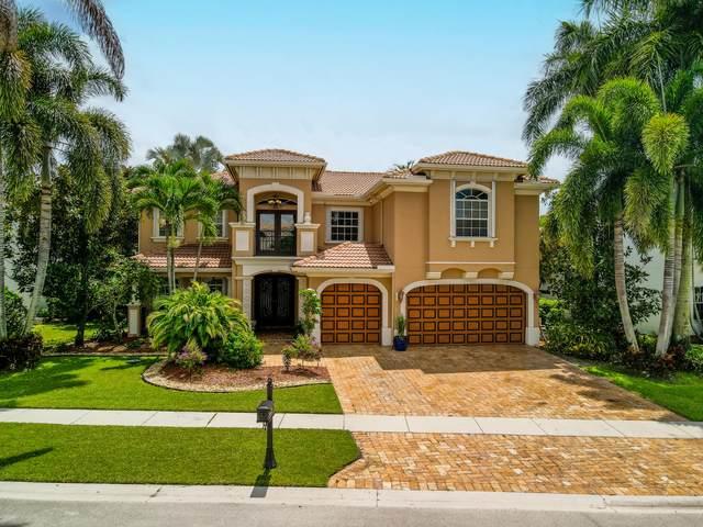 8696 Valhalla Drive, Delray Beach, FL 33446 (#RX-10753894) :: Posh Properties